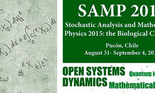 SAMP Stochastic Analysis and Mathematical Physics 2015