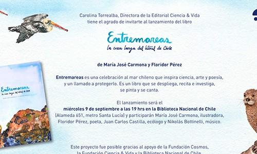 Invitación: ENTREMAREAS, La cueca larga del litoral de Chile