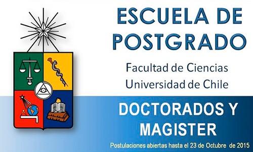 ESCUELA DE POSTGRADO. FACULTAD DE CIENCIAS. 2016
