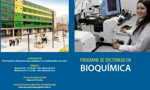 Postulación al Doctorado en Bioquímica