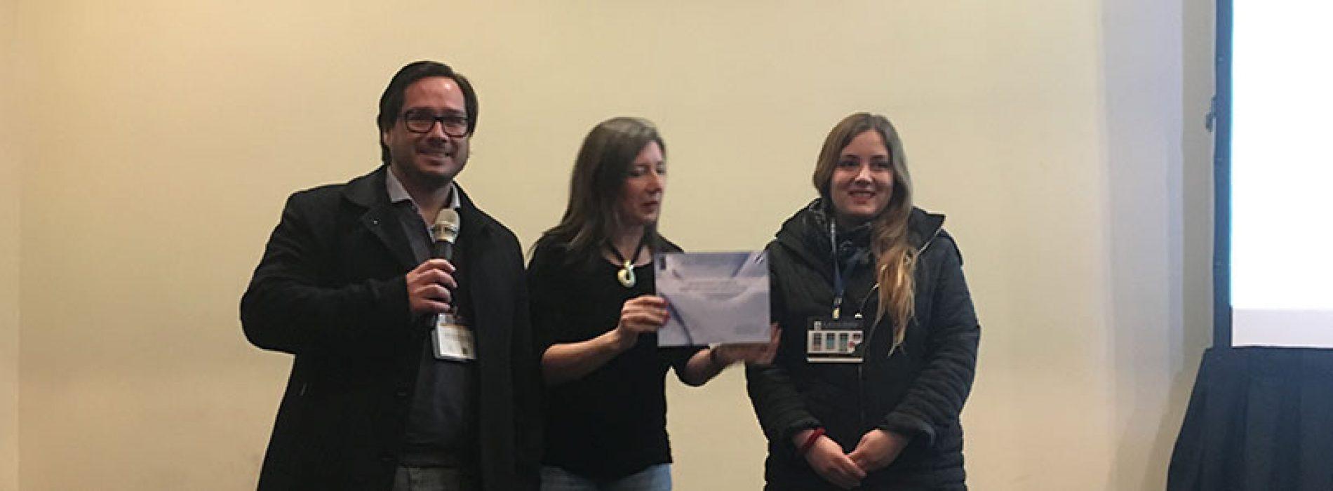Premio Fermelo-SBBMCh mejor comunicación libre panel 2017 a Michelle Salazar, Universidad de Chile. Tutora María Inés Becker
