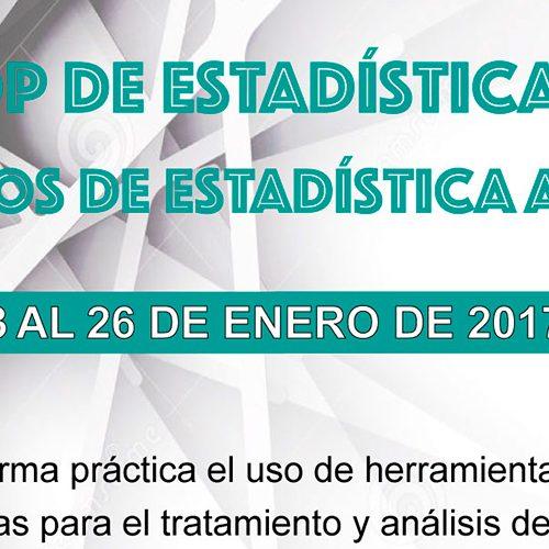 Workshop de Estadística Aplicada Seminarios de Estadística Avanzada