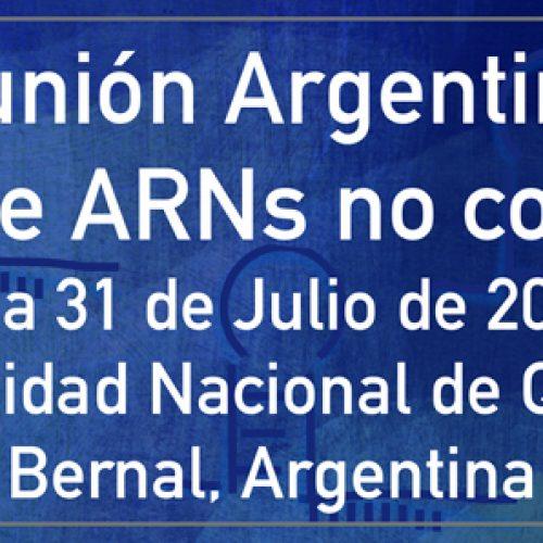 Reunión Argentina de Biología de ARNs no codificantes – 2018