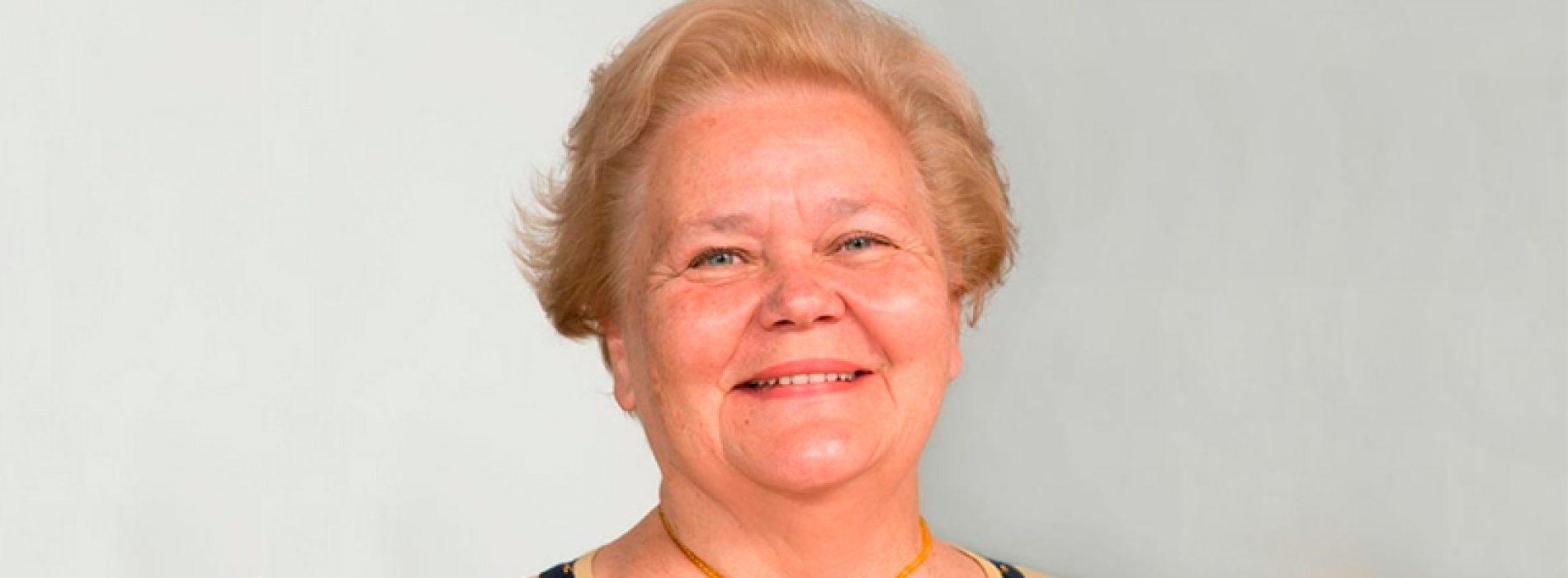 Profesora Evgenia Spodine recibirá Condecoración al Mérito Amanda Labarca 2017