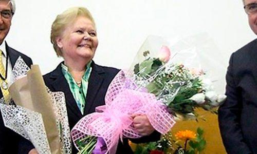 Profesora Evgenia Spodine recibió Premio Amanda Labarca 2017