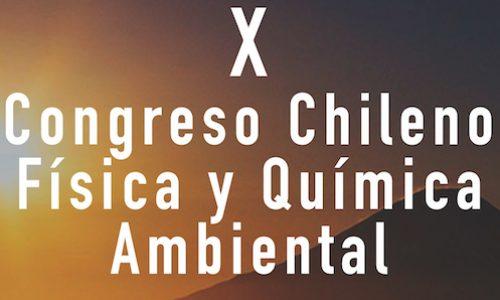 X Congreso Chileno Física y Química Ambiental
