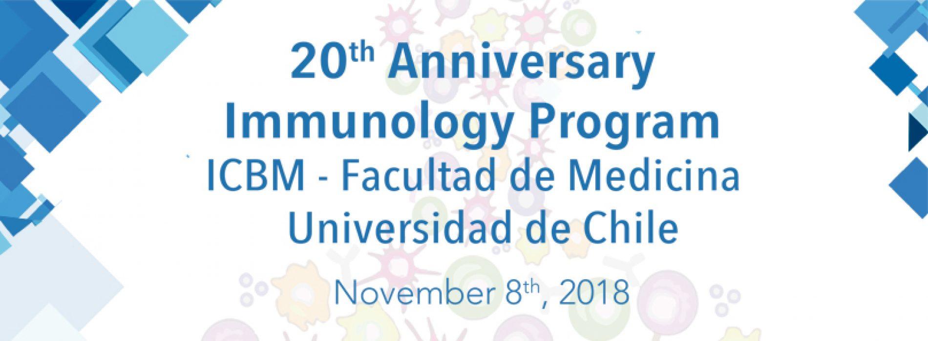 20 Aniversario del programa de inmunología