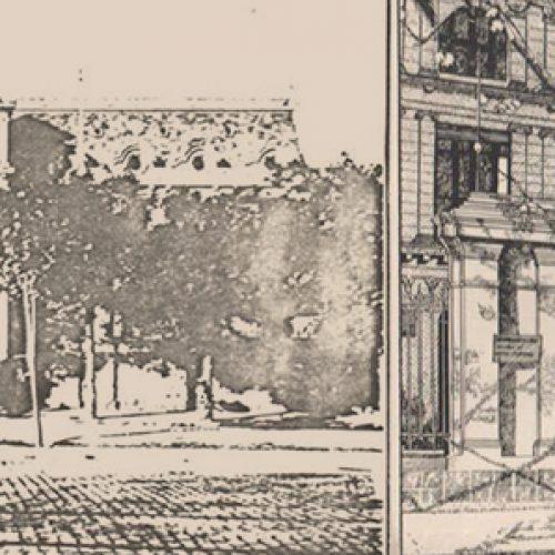 Desarme controlado de fachada original Vicuña Mackena 20