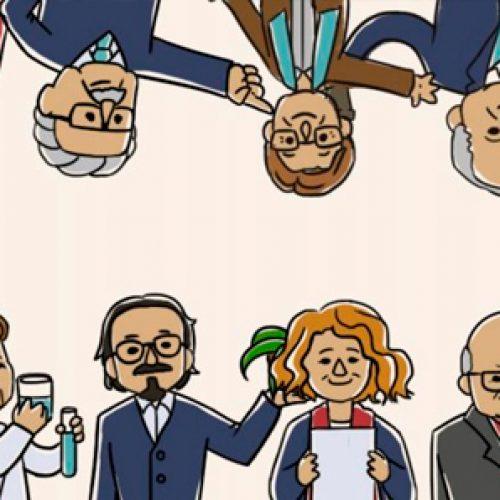 Abecedario científico chileno