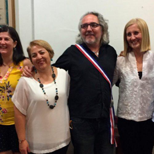 Felicidades a la nueva directiva de la Sociedad de Bioquímica y Biología Molecular de Chile
