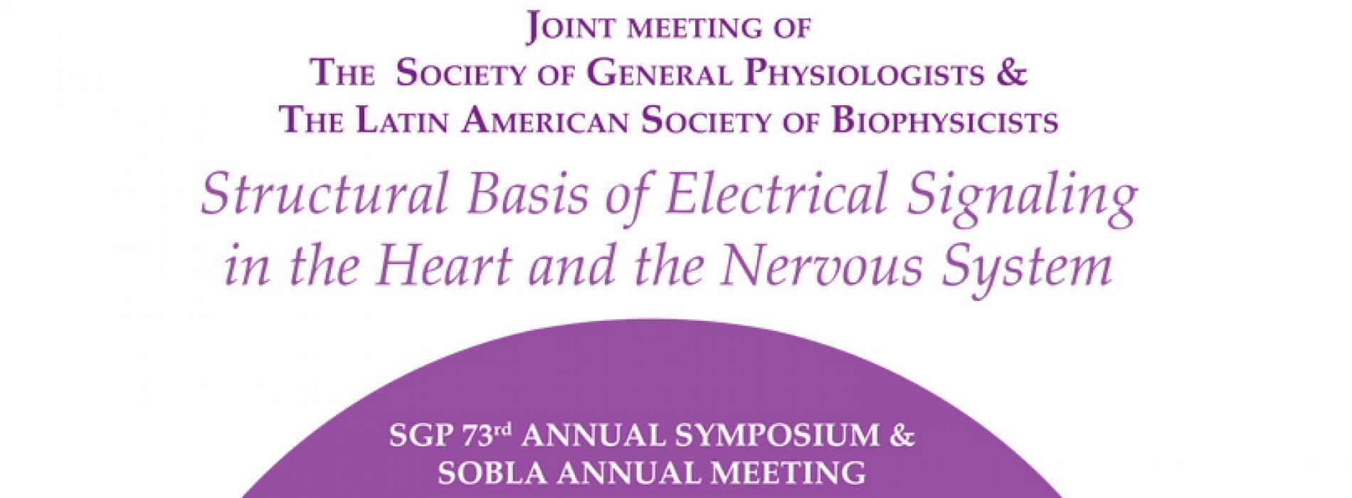 SGP 73rd Annual Symposium & Sobla Annual Meeting