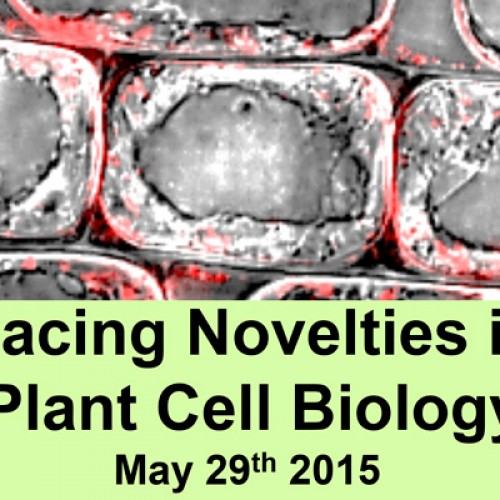 "Workshop ""Facing Novelties in Plant Cell Biology"" 29 de mayo 2015"