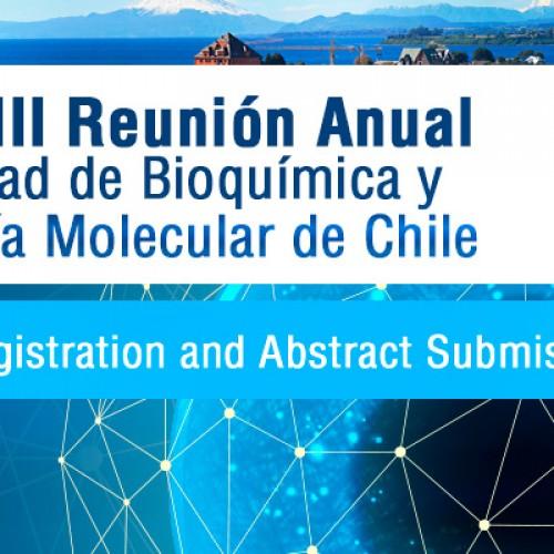 XXXVIII Reunión Anual de la Sociedad de Bioquímica y Biología Molecular, 22 al 25 de Septiembre del 2015, Puerto Varas