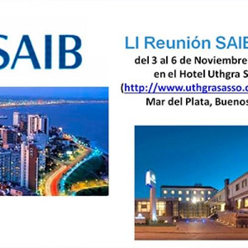 LI Reunión SAIB 2015
