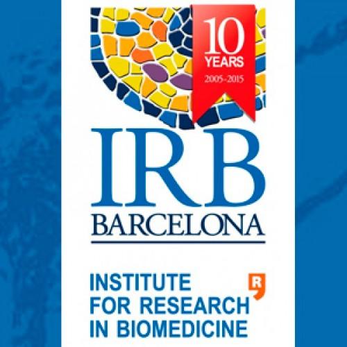 La SBBMCh se complace en saludar en su décimo aniversario al IRB