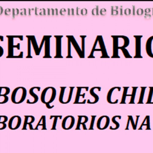 """Seminario Departamental """"Los Bosques Chilenos como laboratorios naturales"""""""