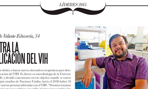 Miembro de la SBBMCH dentro de los 100 jóvenes lideres Revista el Sabado EMOL