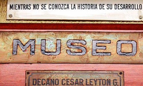 """El Museo de Farmacia Prof. Cesar Leyton Caravagno fue parte del """"Día del Patrimonio 2016"""""""