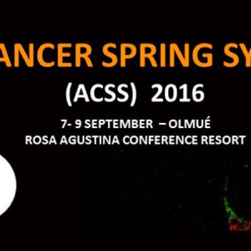 ACCDiS Cancer Spring Symposium (ACSS) 2016