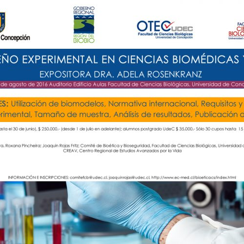 1° Curso de Diseño Experimental en Ciencias Biomédicas Y Biotecnología