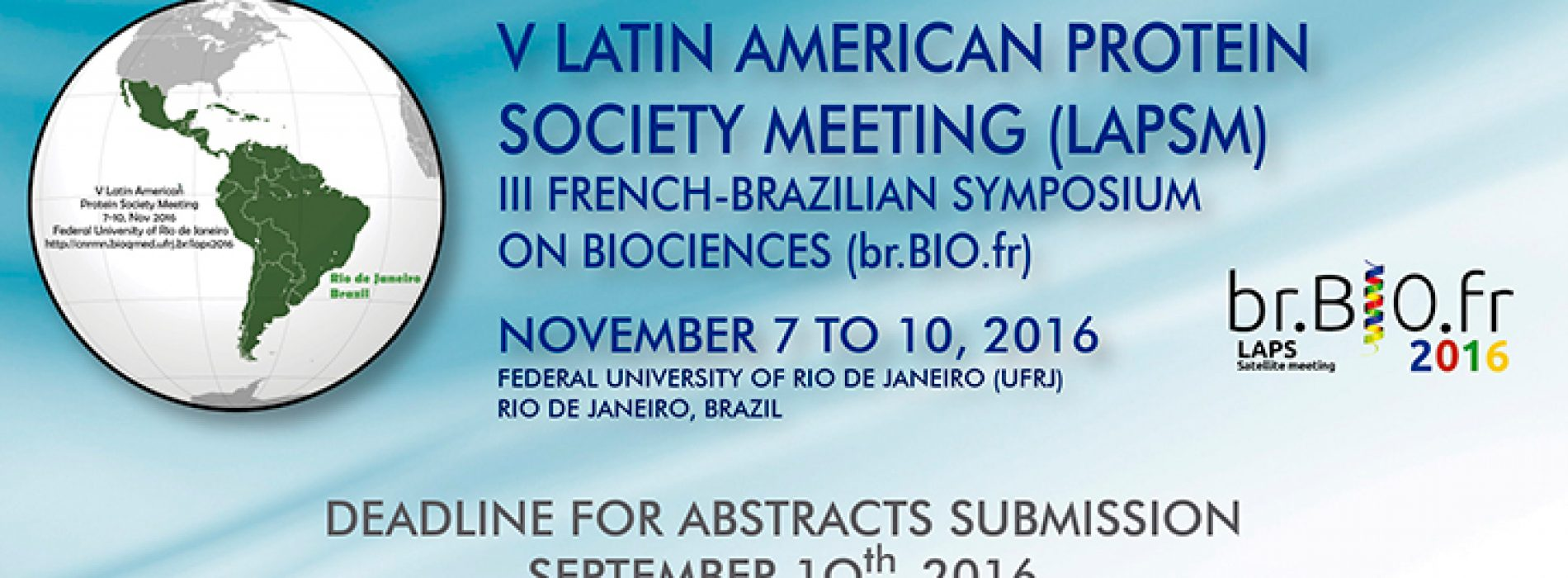 V Latin American Protein Society Meeting (LAPSM)