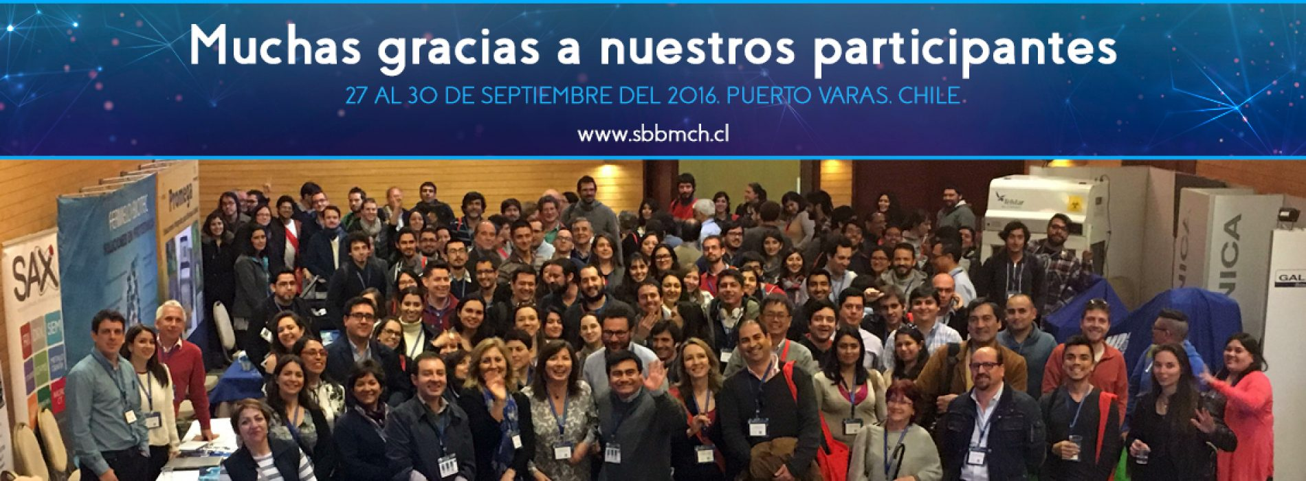 Agradecimientos XXXVIII Reunión Anual Sociedad de Bioquímica y Biología Molecular de Chile