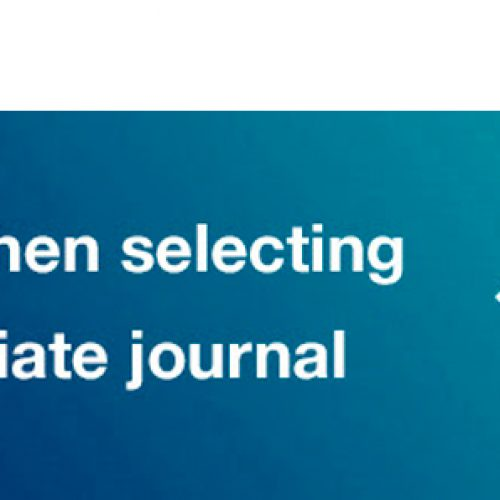 Here's a training video to help with 'Selecting the Appropriate Journal'
