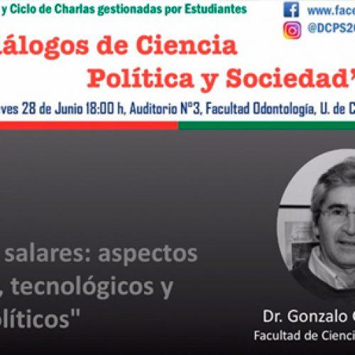 """Curso de Formación General y Ciclo de Charlas gestionadas por Estudiantes """"Diálogos de Ciencia Política y Sociedad"""""""