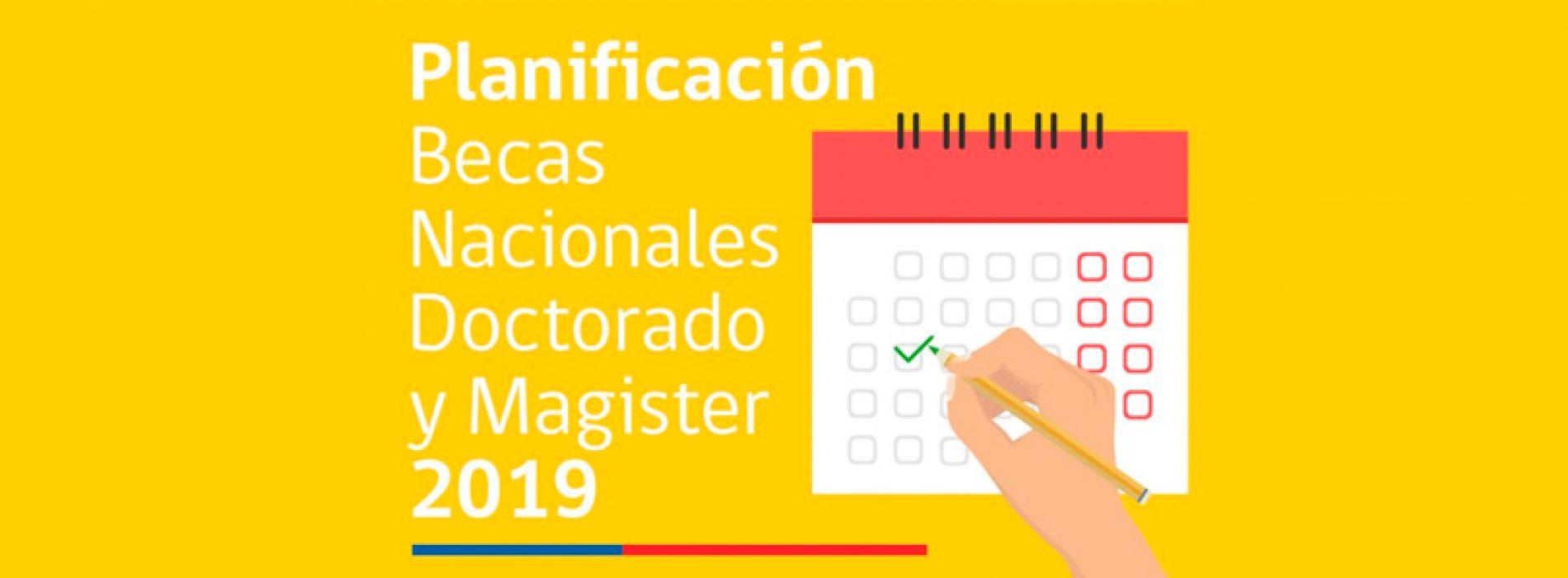 CONICYT informa calendario para Becas de Doctorado y Magíster Nacional | Becas para Estudios de Postgrado en Chile y en el Extranjero
