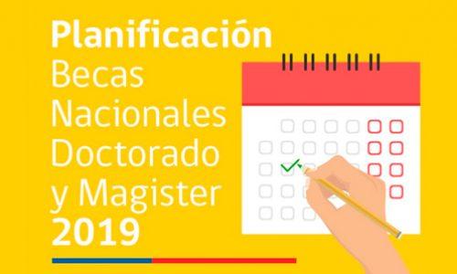 CONICYT informa calendario para Becas de Doctorado y Magíster Nacional   Becas para Estudios de Postgrado en Chile y en el Extranjero