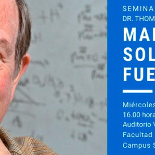 Invitación seminario sobre combustibles solares