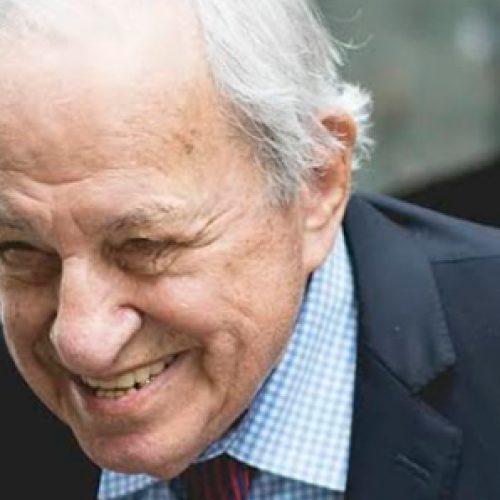 Premio Nobel de Química visitó Chile a sus 95 años dictando una serie de Charlas Magistrales