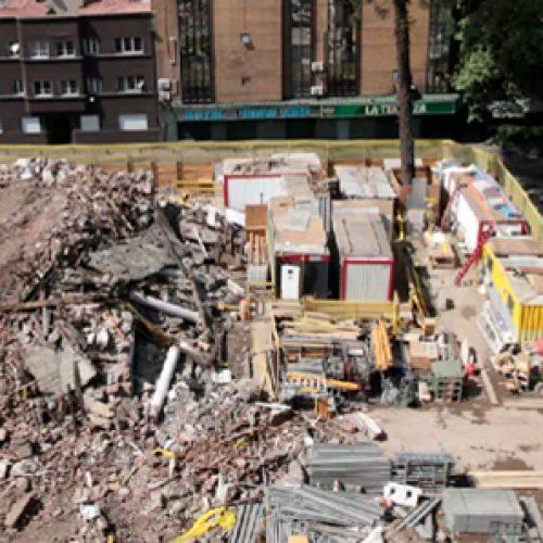 Arquitectos protestanpor demolición de edificio clásico de la U. de Chile
