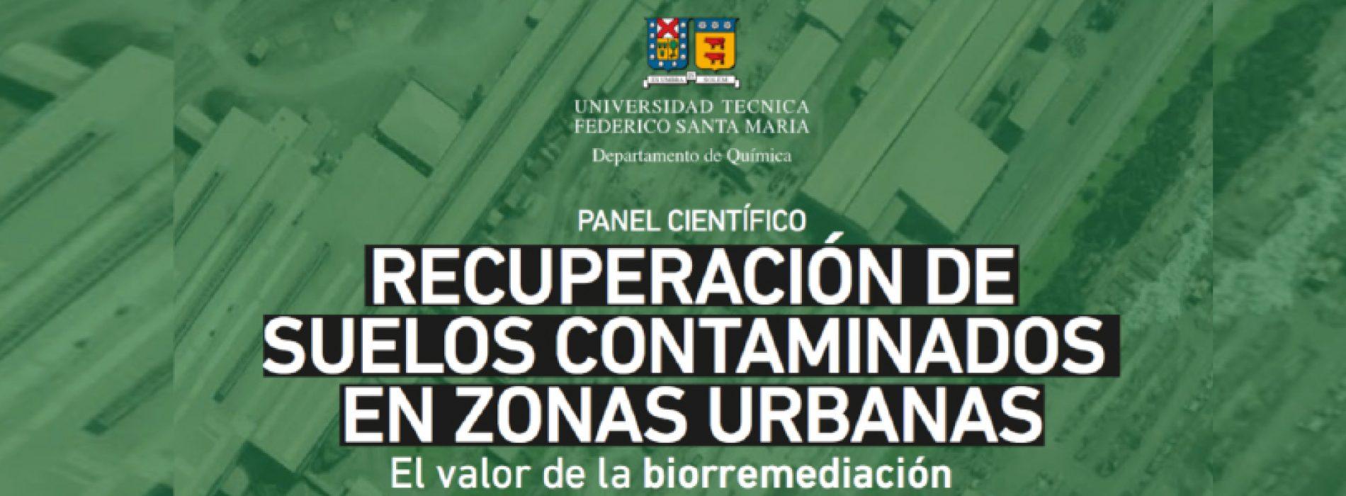 Invitación Panel Científico: Recuperación de Suelos Contaminados en Zonas Urbanas