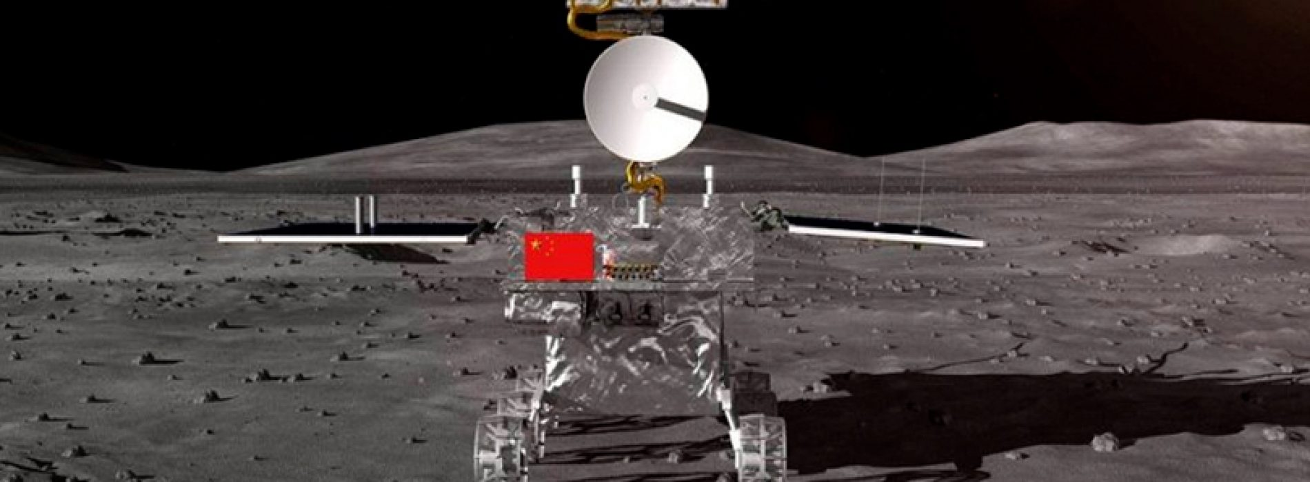 China conquered the dark side of the Moon