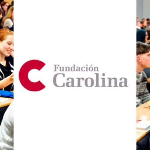 La Fundación Carolina ha abierto una nueva edición de su convocatoria de becas, correspondiente al curso académico 2019-2020.