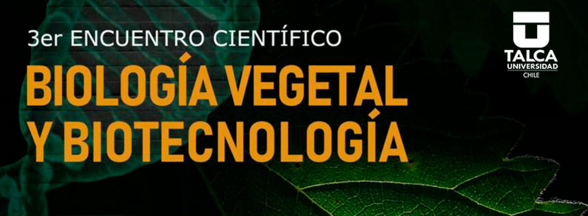 3er Encuentro Científico Biología Vegetal
