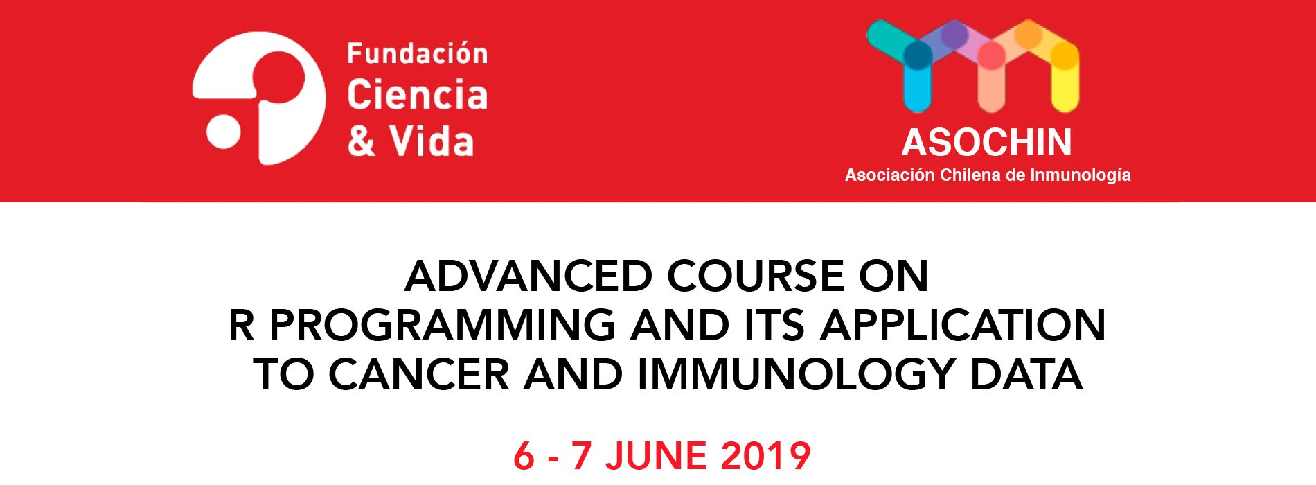 """Curso """"Advanced course on R programming and its application to cancer and immunology data"""""""