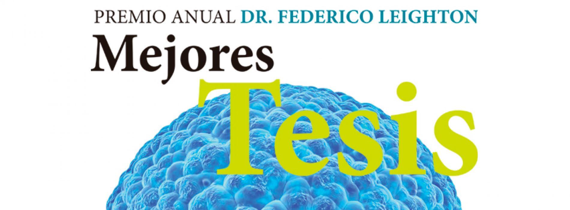 Premio Anual Dr. Federico Leighton 2019 a las Mejores Tesis