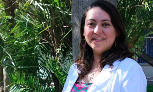 The best young scientist according to the Chilean Academy of Sciences which seeks to discover how the engine of cells