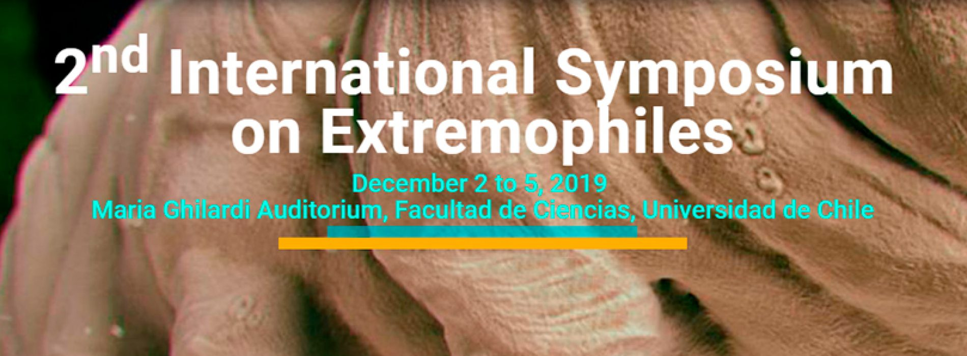 2nd International Symposium on Extreme Environments and Extremophile Organisms