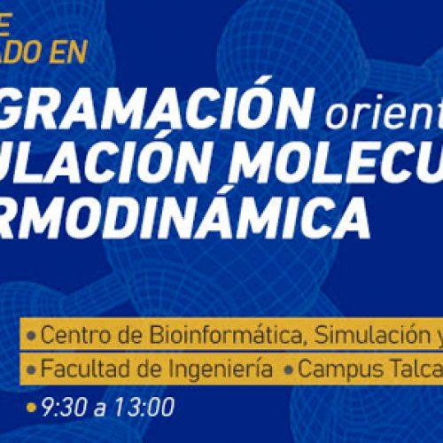 """Curso """"Programación aplicada a simulación molecular y termodinámica"""""""