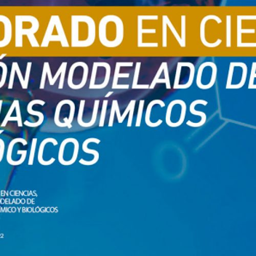 PhD in ScienceMention Modeled Of Chemical and Biological Systems - University of Talca