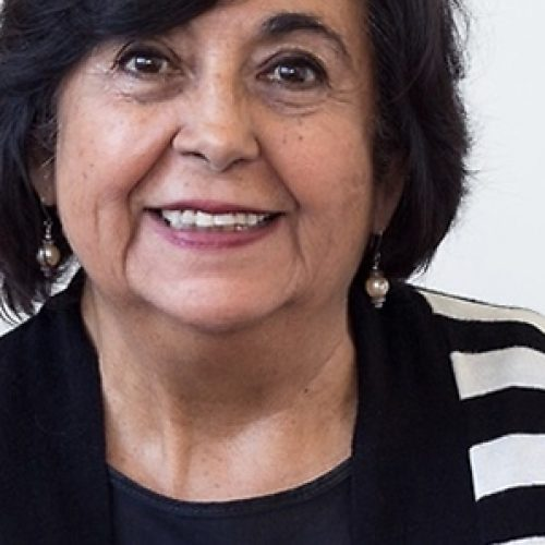 """Dr. Cecilia Hidalgo: """"In general there is a distrust about women's talent. We've been labeled emotional, have no objective thinking, and not be able to do critical analysis"""
