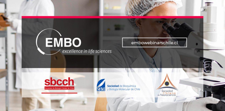 WEBINARs EMBO / Scientific Societies of Chile