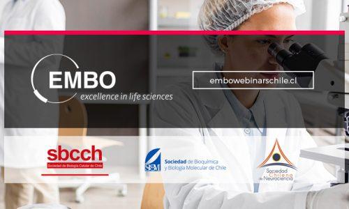 Webinars EMBO / Sociedades Científicas de Chile