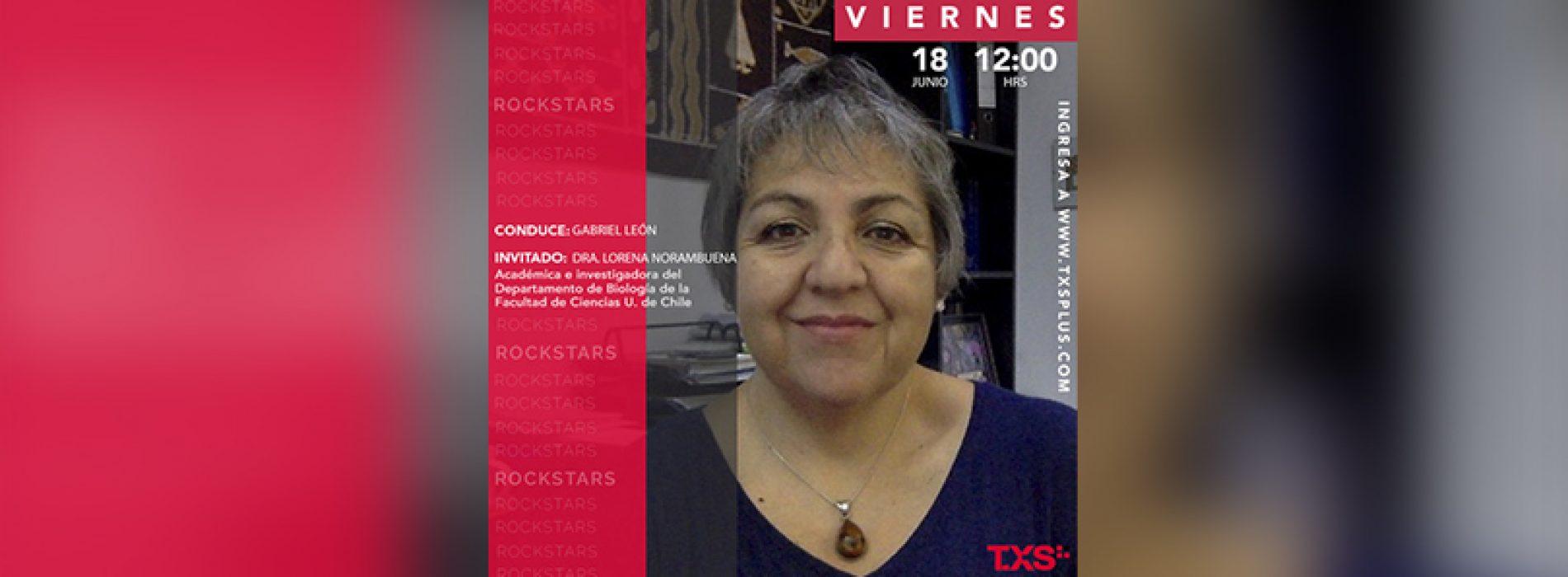 Entrevista a Dra Lorena Norambuena en programa Rock Stars de TXSPlus