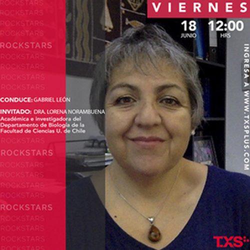 Interview with Dr. Lorena Norambuena in TXSPlus Rock Stars program