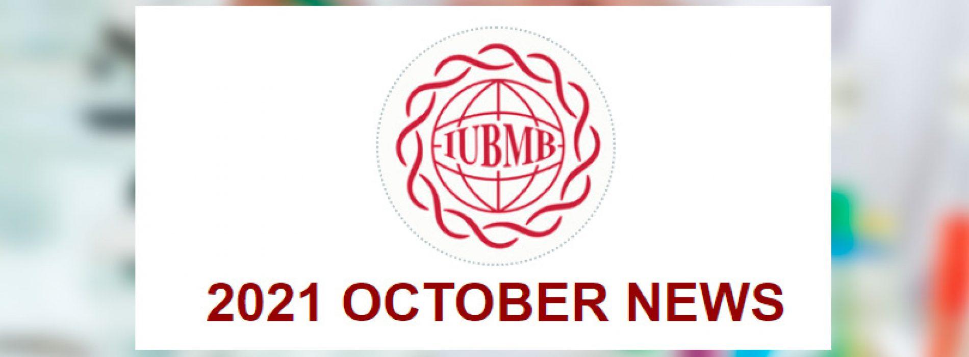 2021 IUBMB October News